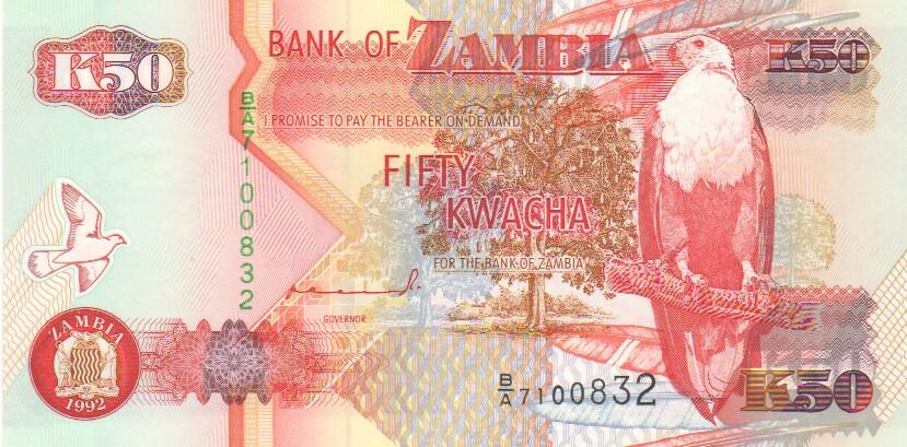 ZAMBIA 20000 20,000 KWACHA 2006 P 47 UNC